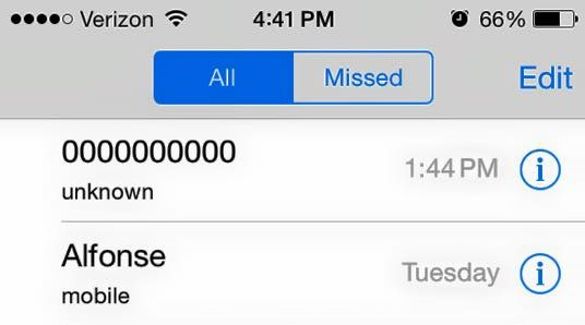 Call from 0000000000 : Is all zeroes phone number a spam or