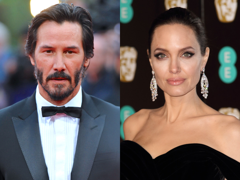 Keanu Reeves And Angelina Jolie, Are They Really Dating Each Other Truth Behind The Viral Rumor .