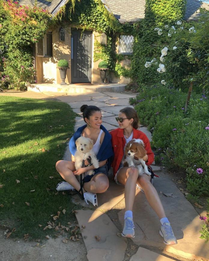 SELENA GOMEZ INTRODUCES NEW DOG, WINNIE, ON INSTAGRAM, AND