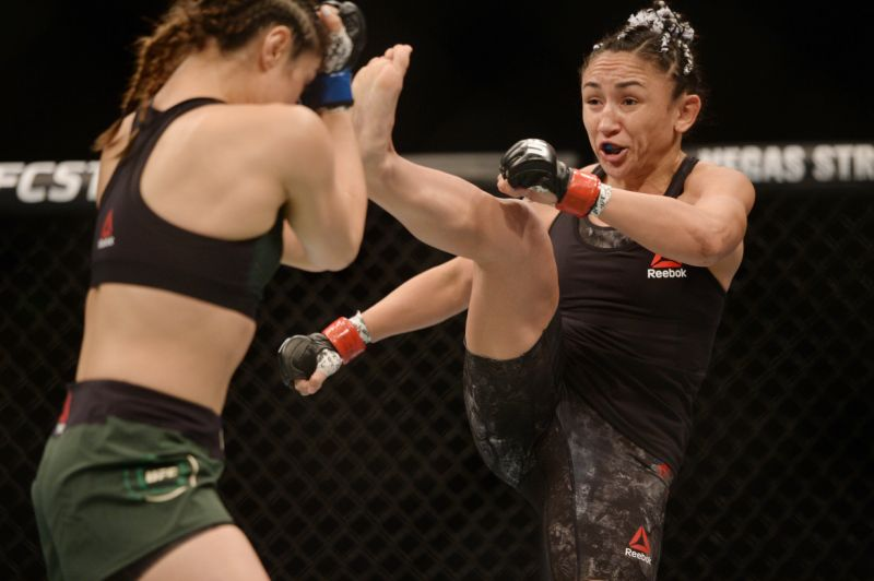 Carla Esparza's courageous performance leaving bent arms and minds