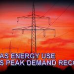 Hot Texas Temperatures Cause high Electric Consumption