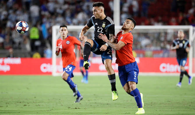 Argentina, Chile stalemate in LA friendly