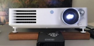 Bring on the popcorn: The tiny, portable projector will turn any wall into a 200-inch movie theater screen — and is more than 60% off
