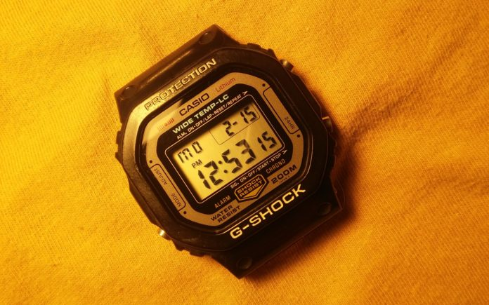 Casio's: First ever G-shock wrist watches-honoured by japan