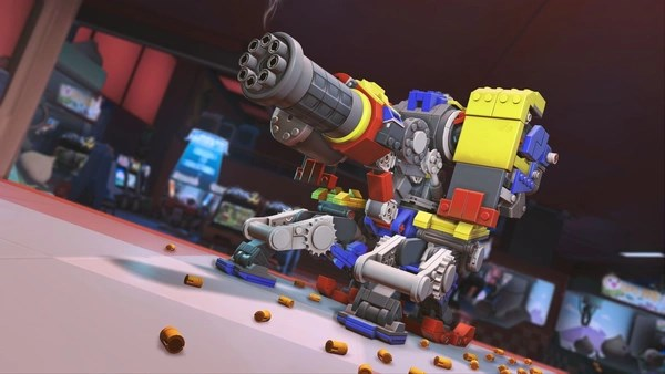 """""""Overwatch"""" Launched The Bastion's Brick Challenge Event"""