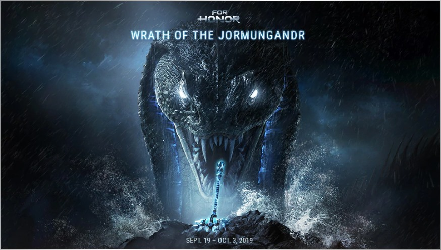 "UBISOFT'S Announcement : ""For Honor"" Launches A New Event, ""Wrath Of The Jormungandr"""