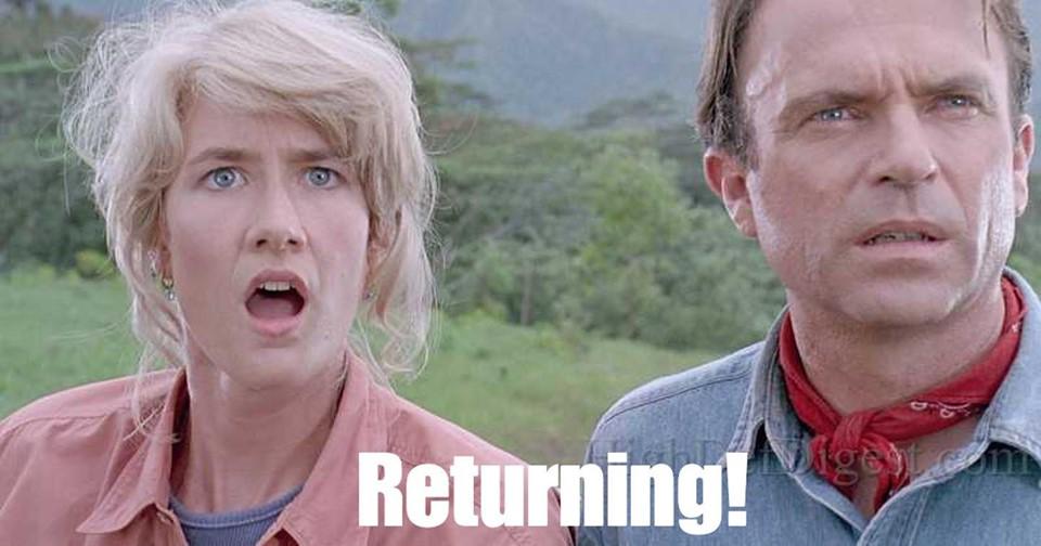 Jurassic World 3: New cast Revealed -Bringing Back Laura Dern, Jeff Goldblum and Sam Neill