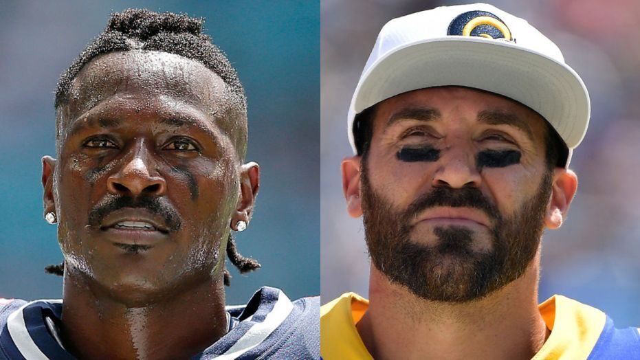 Antonio Brown disputes with Eric Weddle on Twitter