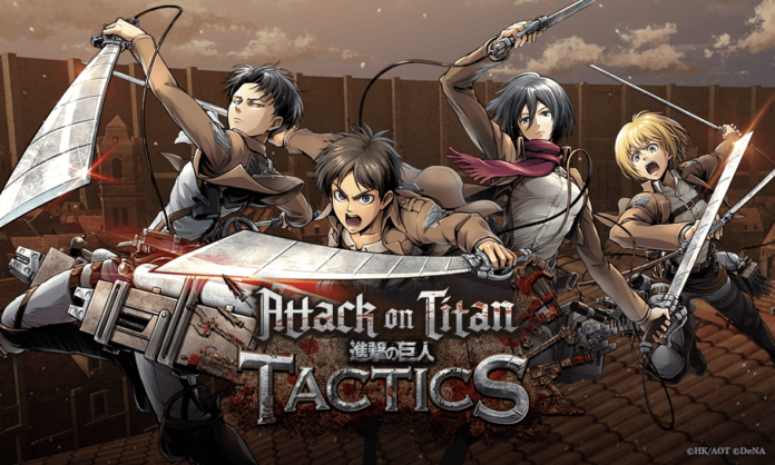 'Attack On Titan Tactics' A RTS Game Launches On Android-Here's every details of it'Attack On Titan Tactics' A RTS Game Launches On Android-Here's every details of it
