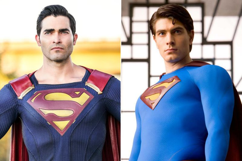Brandon Routh's Superman suit in the Arrowverse's big Crisis crossover
