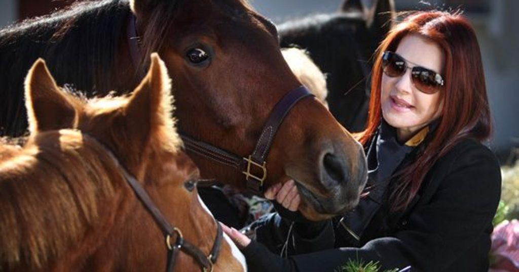 Priscilla Presley's Beloved Horse- Max , Died at Graceland