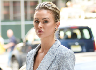 'Vanderpump Rules' Star Lala Kent Shows Off Her Legs In A Sparkly Blazer Dress