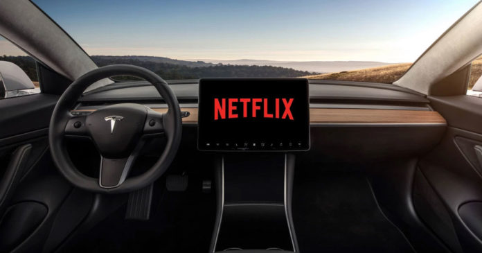 Tesla's New software update that comes with Netflix and 'Car-aoke'- Here's full details