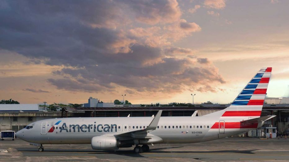 American Airlines flight diverted due to unruly passenger reportedly smokes weed on board