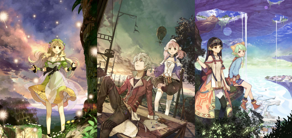 ATELIER DUSK TRILOGY DELUXE PACK ANNOUNCED FOR NINTENDO SWITCH, STEAM, PS4