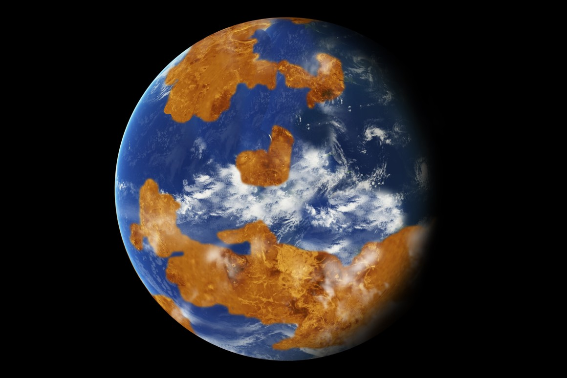 Ancient Venus may have been habitable: How? -Suggested Computer models