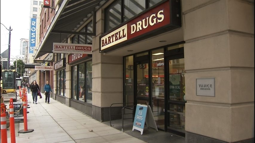 Bartell Drugs closing in downtown Seattle, blaming crime and regulations- More Information inside
