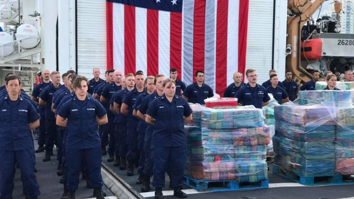 More than 12,000 pounds of cocaine seized by Coast Guard-
