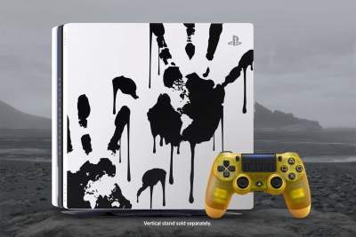 Death Stranding Sony PS4 Pro includes a baby pod-inspired controller