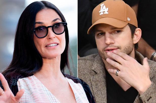 REVEALED: Ashton Kutcher- Demi Moore's 'addiction'