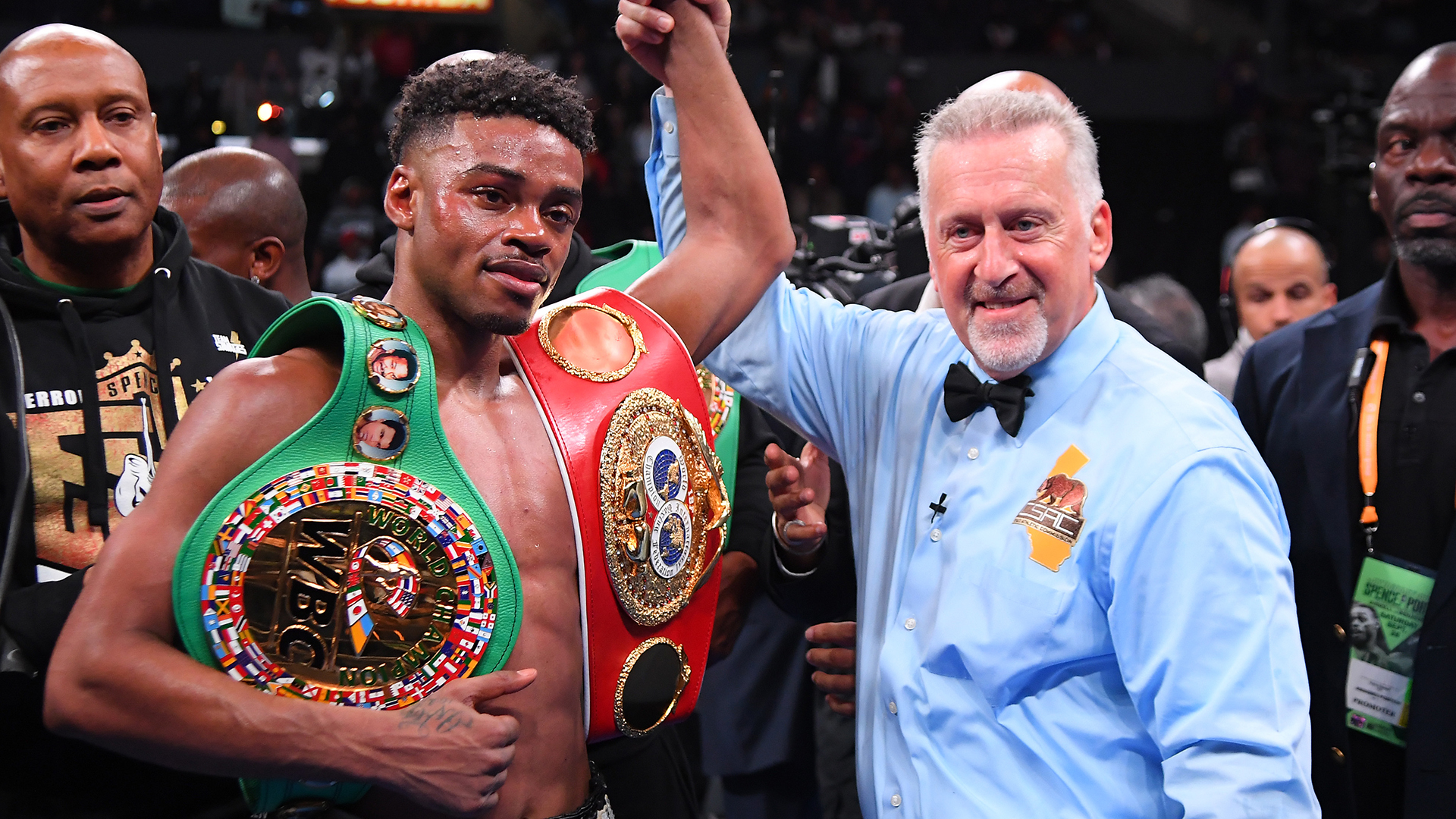 Spence who is still unbeaten faces Porter to unify welterweight titles