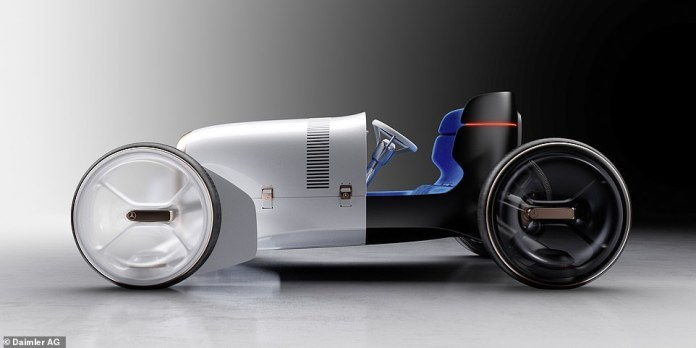 Mercedes' latest high-tech concept car is a throwback to 1902 : all what you need to know about