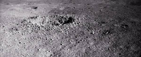 China's lunar rover finds unknown 'gel-like' substance on the far side of the moon