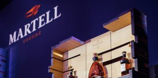 Martell has launched the new cognac Chanteloup XXO at an exclusive party in Paris