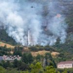 Wildfire ignites on hills above Layton