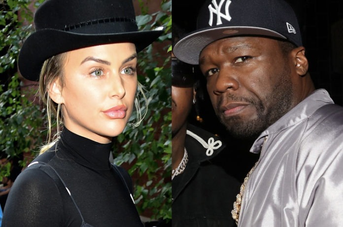 51 Cents Shades Lala Kent 'A Drunk' After she claims that She Bruised His Ego