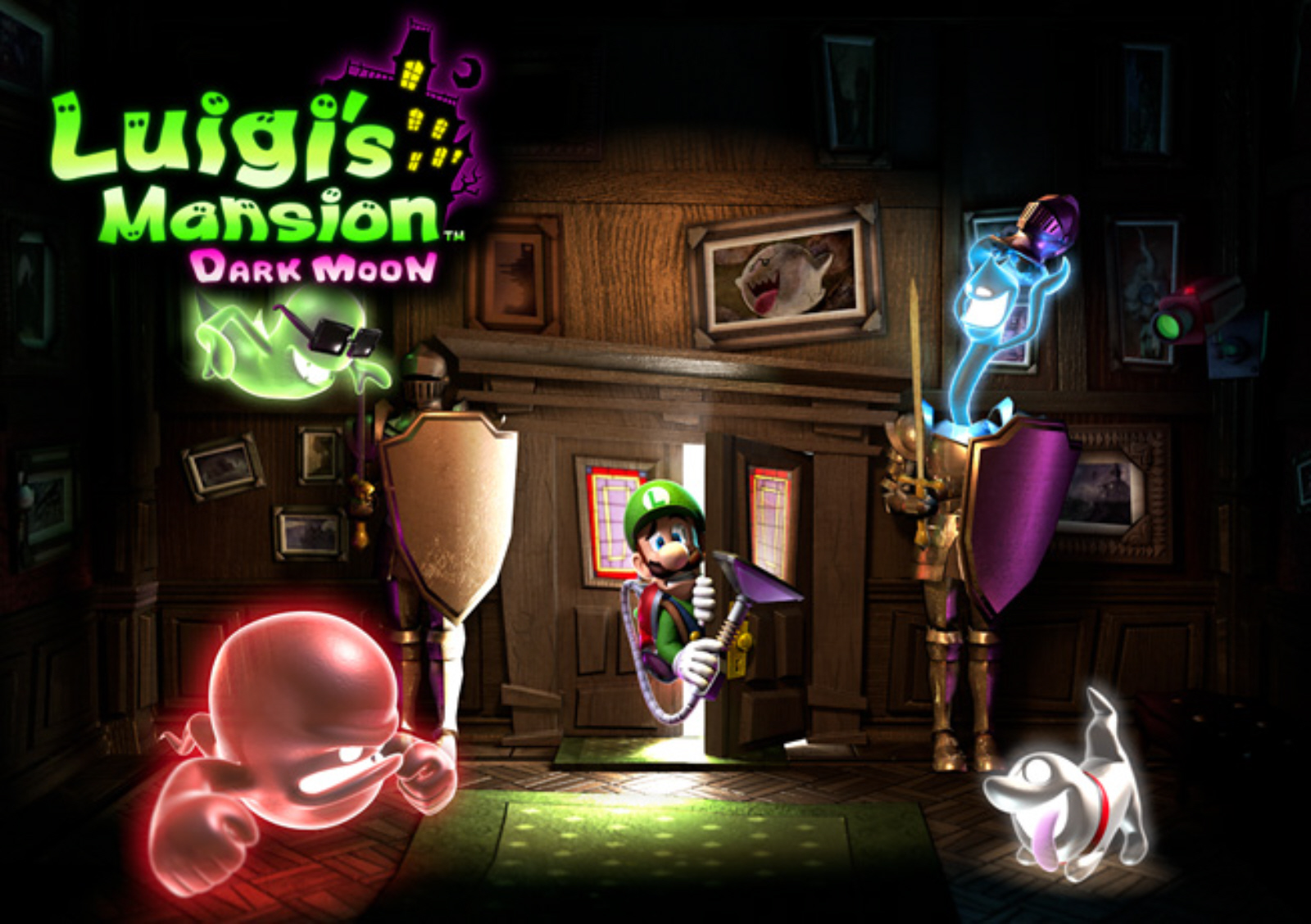 LUIGI'S MANSION 3:NOW FEATURING PAID DLC FOR SCARESCRAPER AND SCREAMPARK MODES