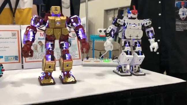 BTS dancing robots created by South Korean students get