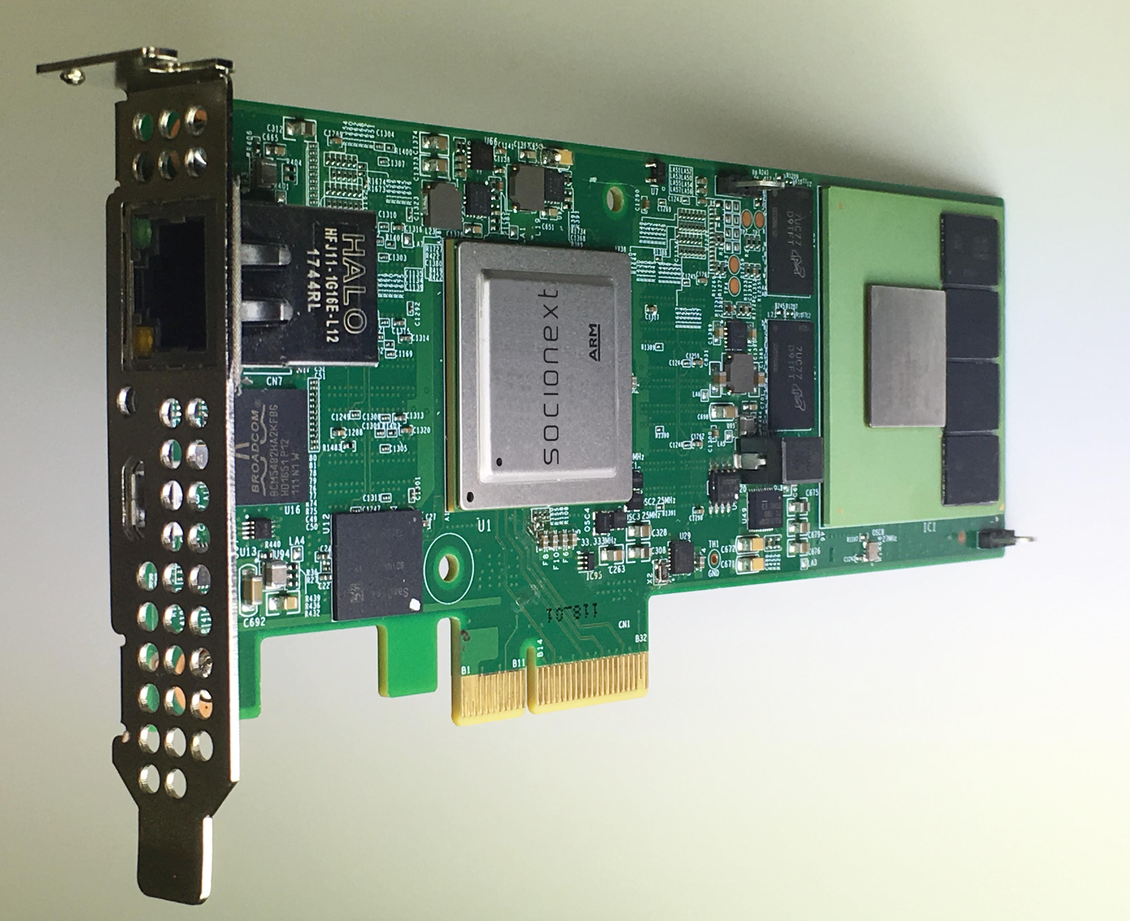 Socionext America Inc. releases the 'M820L-8K' media accelerator card