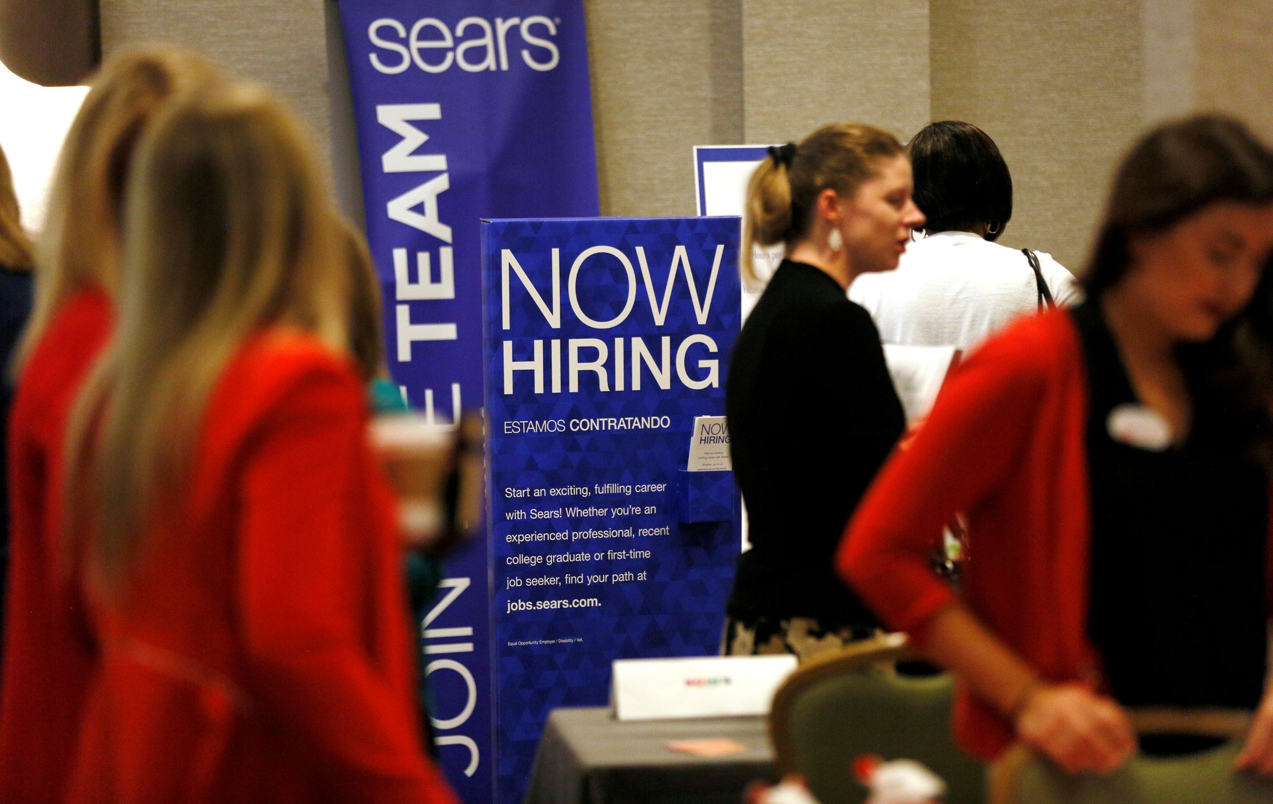 U.S. unemployment rate hitting higher Thus leads to moderate job growth