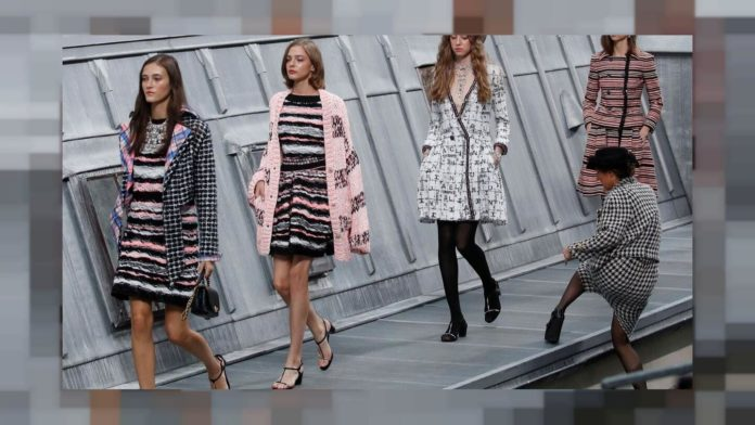 Catwalk prankster crashes Chanel Paris show in face-off with miffed supermodel Gigi Hadid