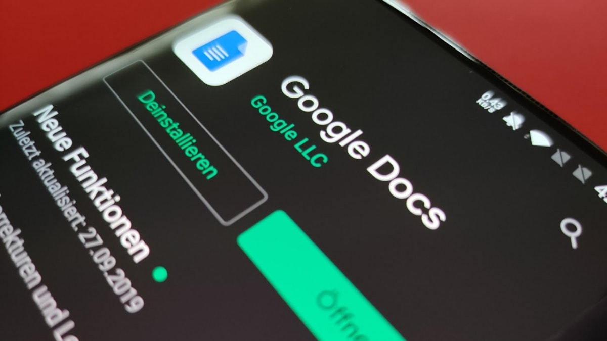 A New Refreshed look for Google Docs, Sheets, and Slides Android apps