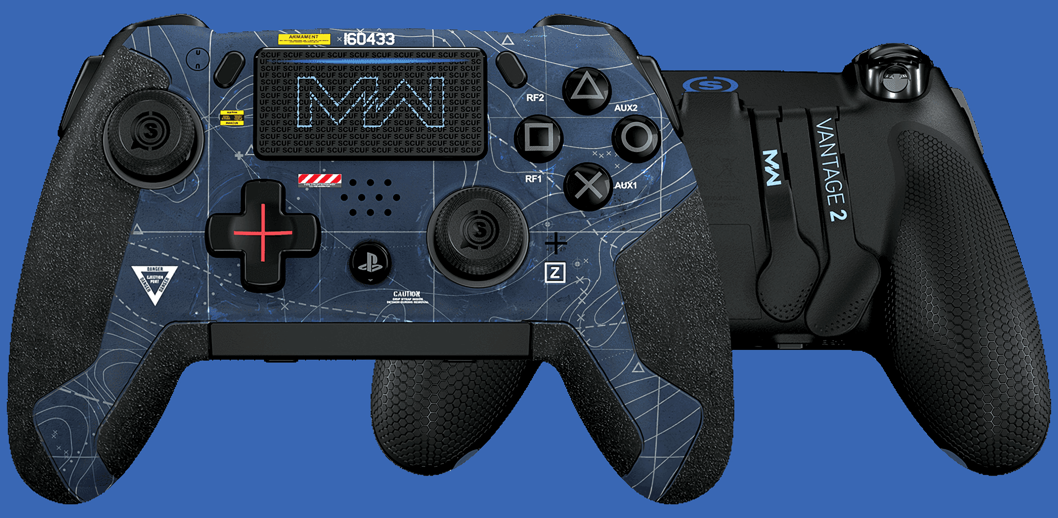 New Vantage PlayStation 4 controller Redesigned by Scuf in October