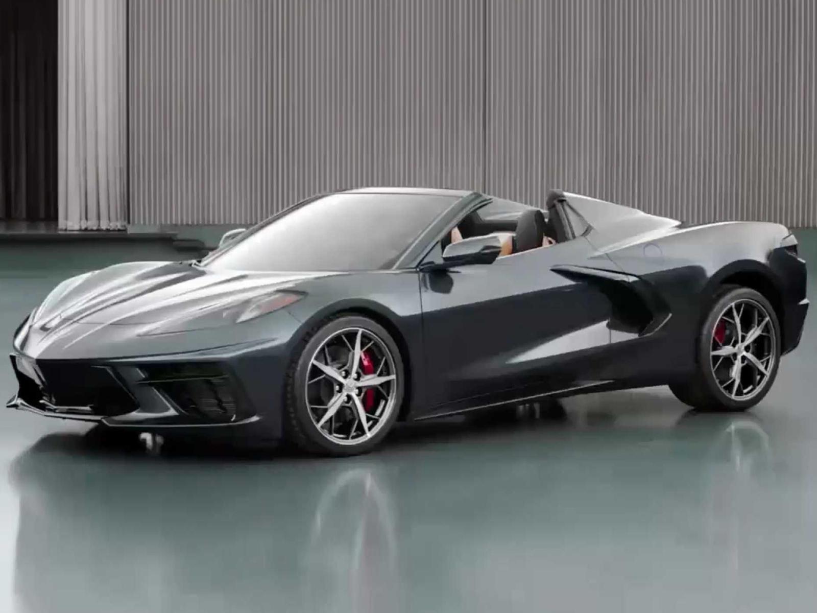 GM Revealed First Corvette convertible : Full Specs snd Details