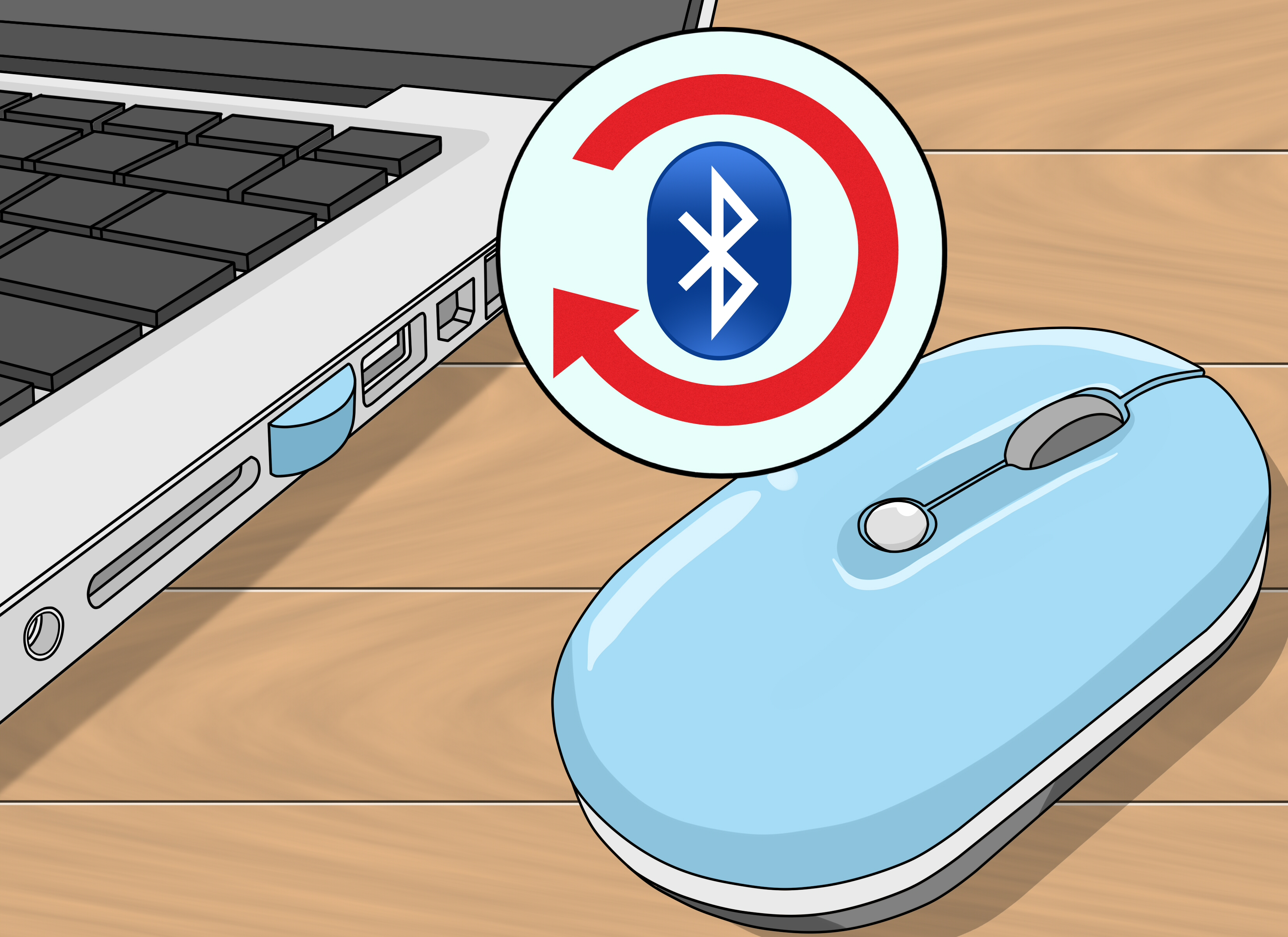 How to connect a wireless mouse to your Mac computer in 2 different ways?