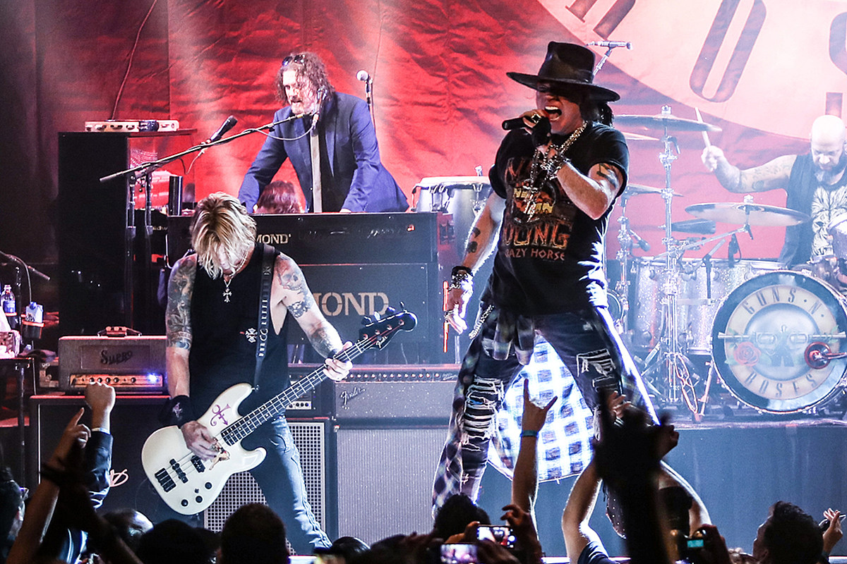 A New GUNS N' ROSES Album Is Coming Soon- But when?