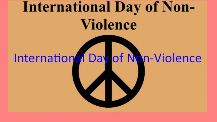 How Awareness is to be spreaded on International Day of Non-Violence?