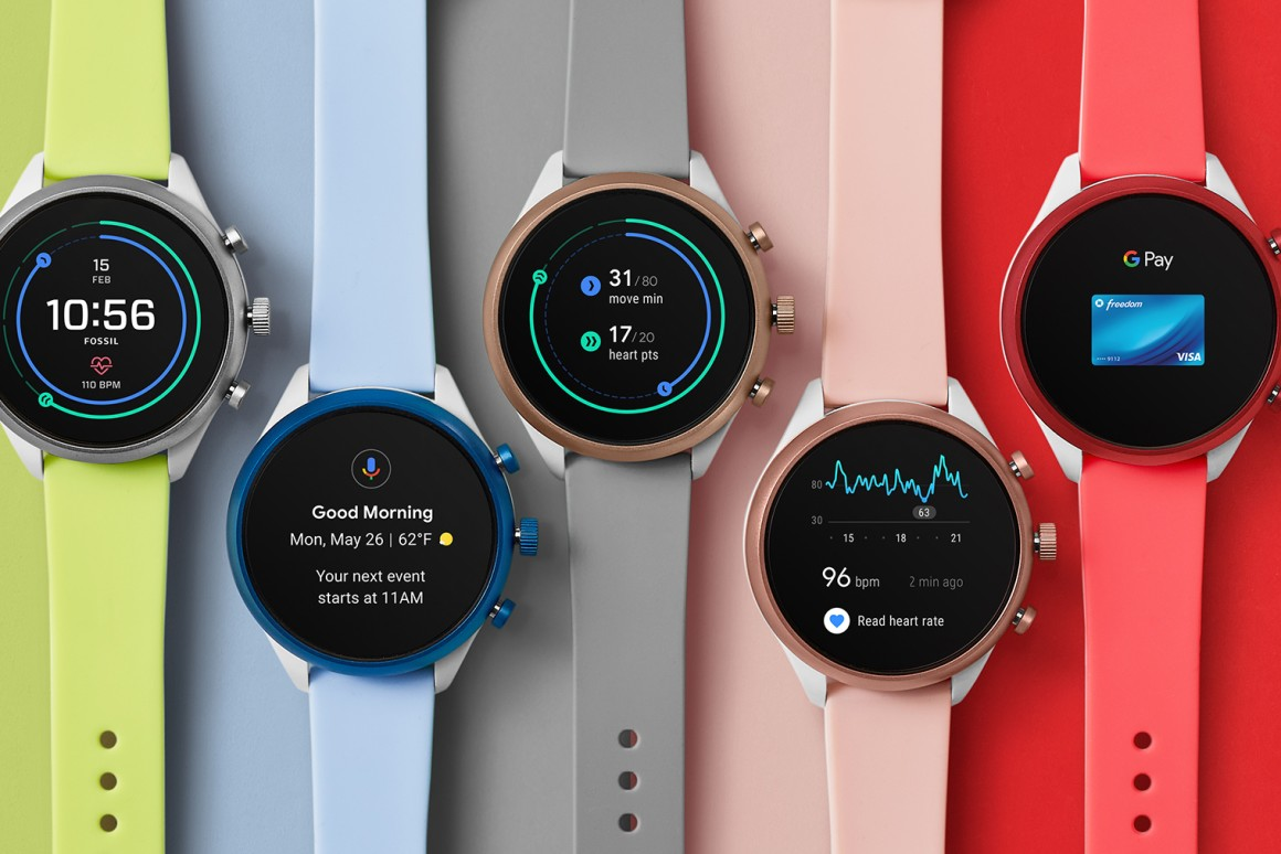 Fossil Sport smartwatch Releases New colors with a massive price cut