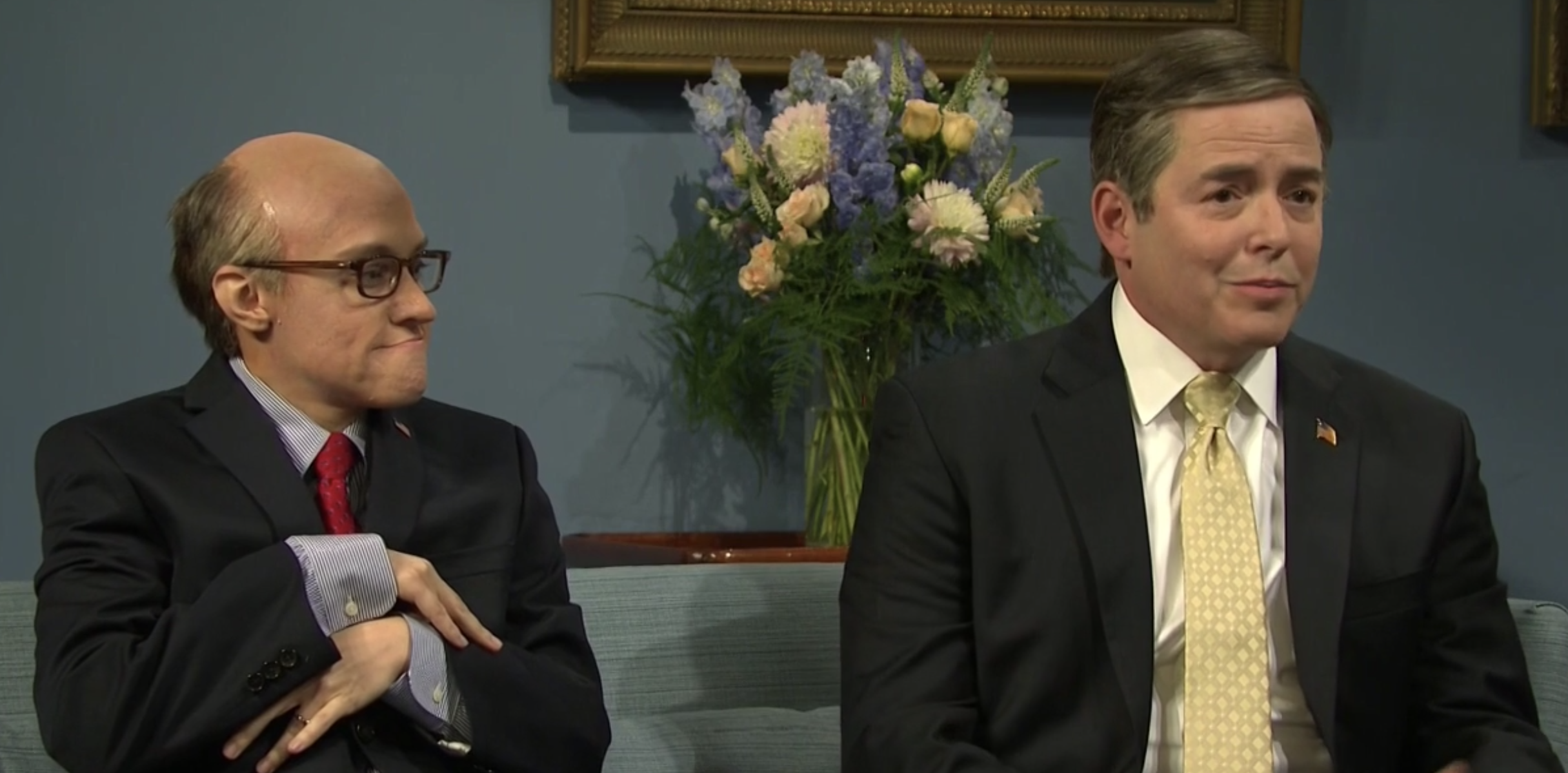 Matthew Broderick amazing performance as Mike Pompeo in 'Saturday Night Live' Cold Open