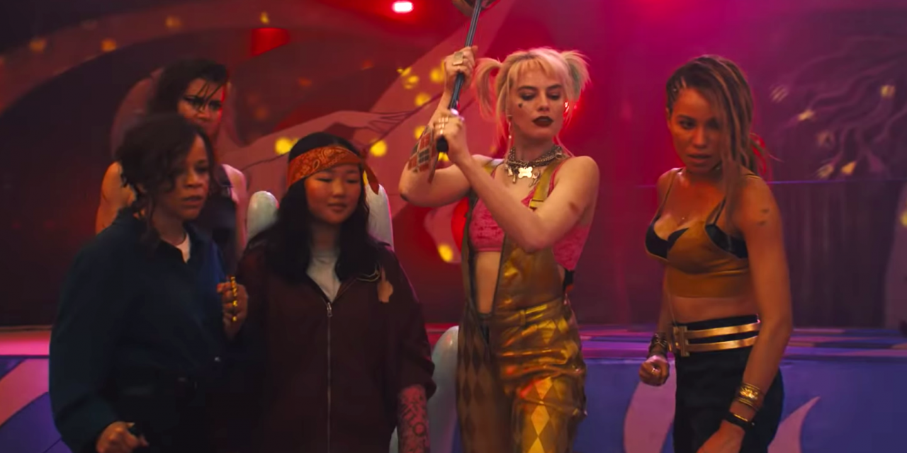 """The first trailer for """"Birds of Prey"""" Harley Quinn and her girl gang are emancipated"""