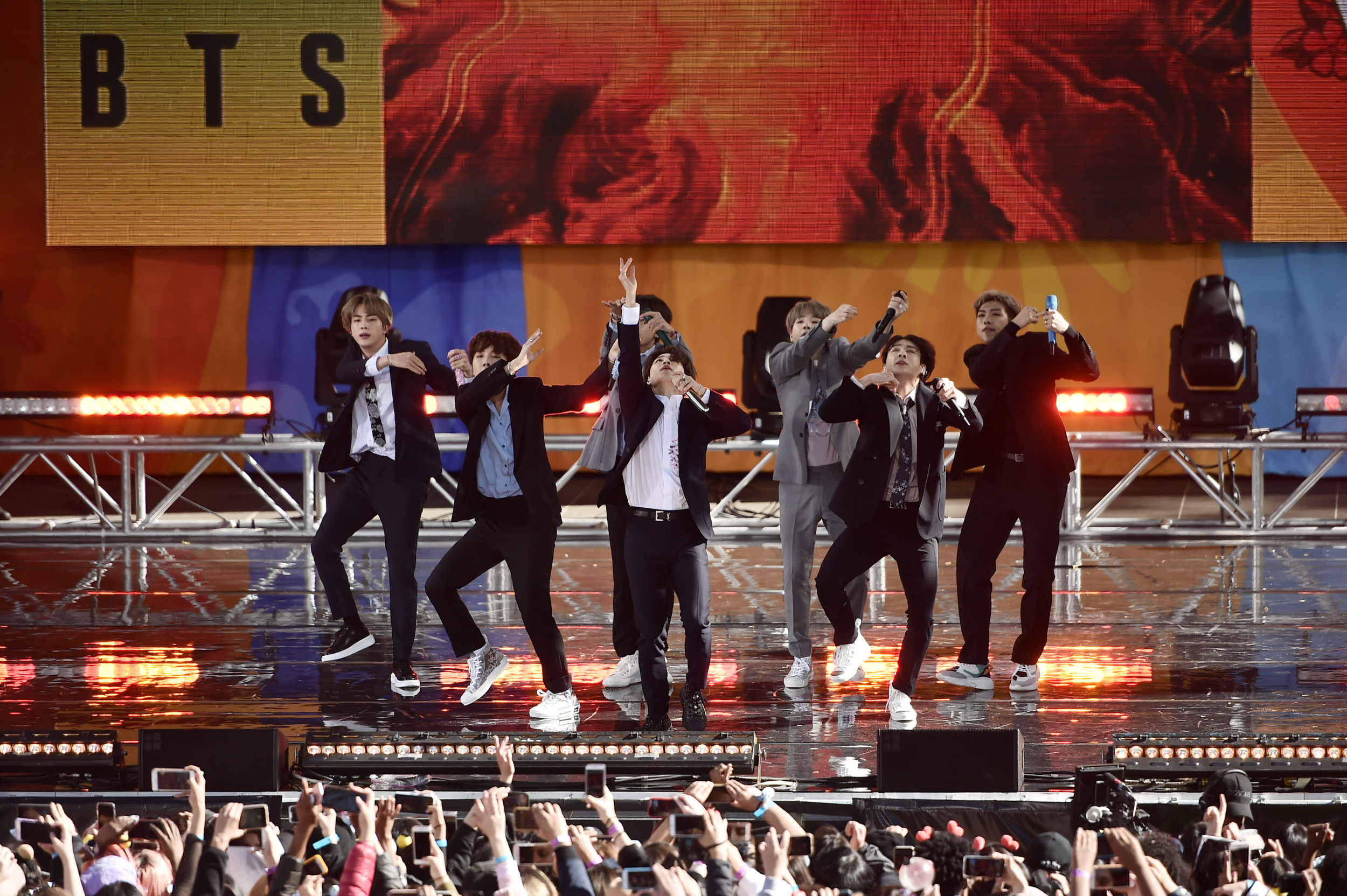 BTS- The first foreign artists to play solo show at Saudi Arabia's King FI Stadium