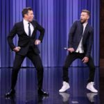 Justin Timberlake takes Parenting Advice from a good father jimmy Fallon Gaveto: Here every detail of it