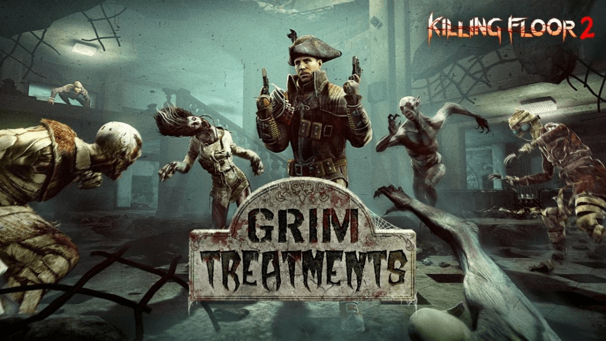 """""""Grim Treatments"""" Halloween Update launched by Killing Floor 2 - Here's the Details"""