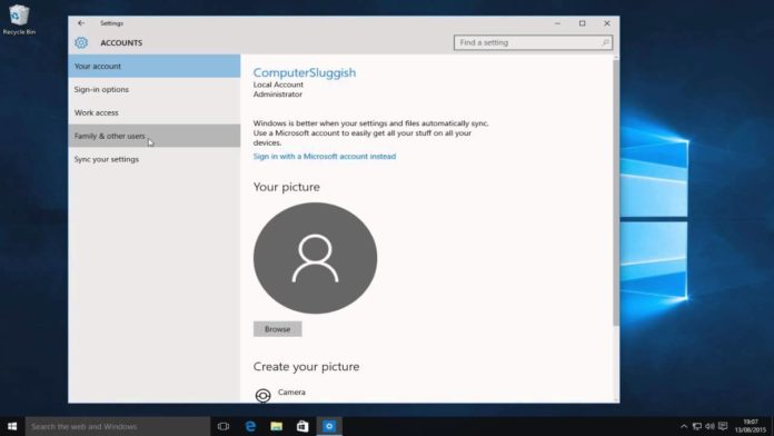 Here's How to Set Up Windows 10 With a Local Account?