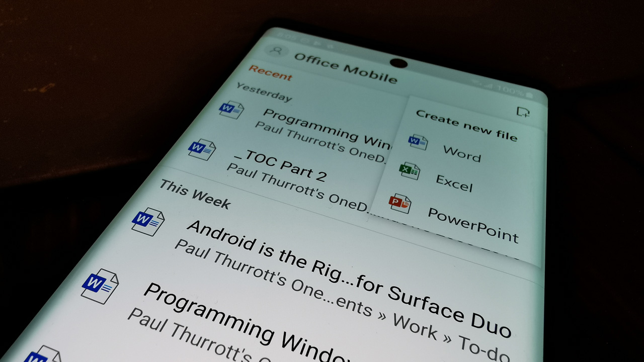 Microsoft is working on a unified Office Mobile app for iOS: Details inside