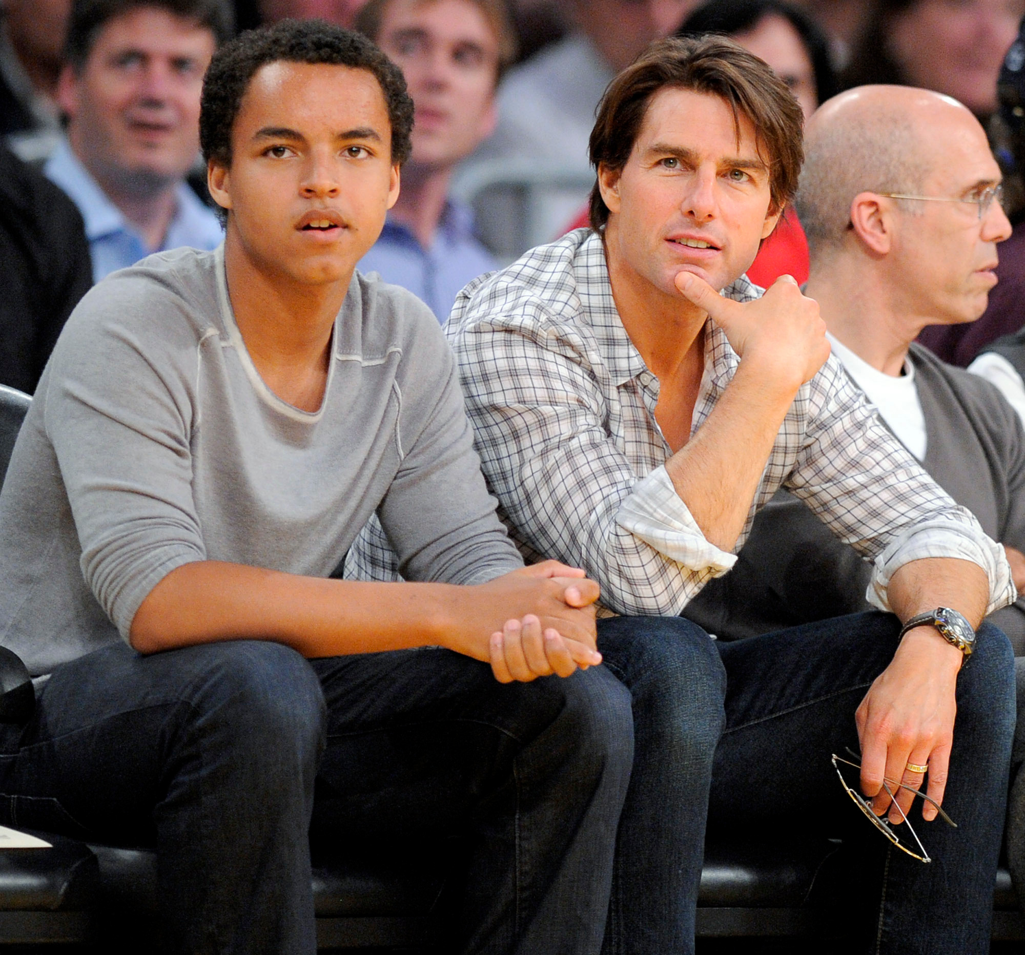 Tom Cruise with his son Connor caught in rare appearance: Here are Scientology split rumours